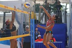 Indonesian teams won the titles in both the men's and women's competition at the 2017 South East Asian Beach Volleyball Championships in Singapore. Beach Volleyball, The Man, Competition, Asian, Sports, Women, Hs Sports, Sport, Woman