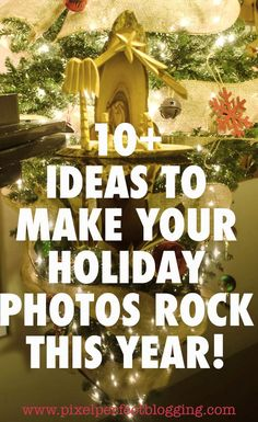 Do your Christmas photos usually turn out flat? Click here to see 10  ideas that will help you make your Christmas photos rock this year! Photography Basics, Photography Tips For Beginners, Iphone Photography, Photography Tutorials, Learn Photography, Photography Ideas, Holiday Mini Session, Holiday Photos, Christmas Photos