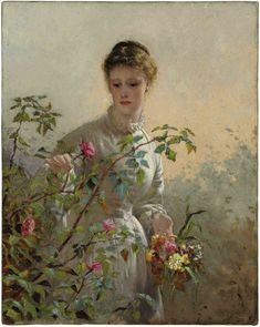 View A summer bouquet by George Elgar Hicks on artnet. Browse upcoming and past auction lots by George Elgar Hicks. Paintings I Love, Beautiful Paintings, Victorian Art, Art Themes, Parcs, Female Art, Art Girl, Flower Art, Amazing Art