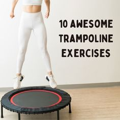 Small Trampoline, Mini Trampoline Workout, Healthy Exercise, Exercise For Kids, Diet Exercise, Workout For Beginners, Beginner Exercise, Sweat It Out, Keep Fit
