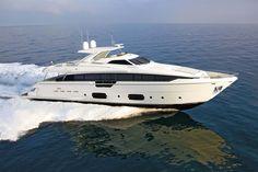 External view Ferretti Yachts - Ferretti 960 #yacht #luxury #ferretti