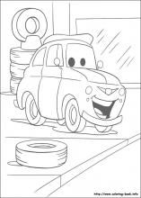 Cars Coloring Pages On Book