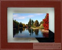 """Model #: 80017263 Material: Leather (bonded+faux) Displays: 4""""x6"""" print Orientation: Horizontal and Vertical Our price: $12.50"""