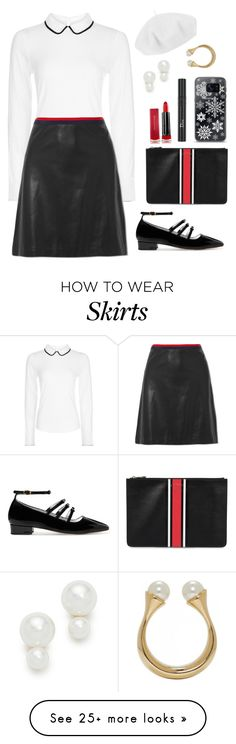 """""""Untitled #2450"""" by ebramos on Polyvore featuring Hobbs, Gucci, Betmar, Kate Spade, AlexaChung, Givenchy, Max Factor, Christian Dior, Samsung and Chloé"""