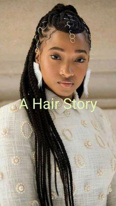 Black Girl Braids, Braids For Black Women, Girls Braids, Braids For Black Hair, Black Girl Hair, Black Girls Hairstyles, Cool Hairstyles, Black Braided Hairstyles, Natural Black Hairstyles
