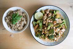 Kookostofucurry Garam Masala, Tofu, Pasta Salad, Sprouts, Curry, Vegetables, Ethnic Recipes, Crab Pasta Salad, Curries