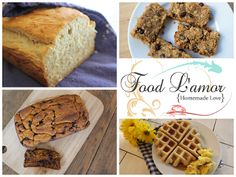 Breads | Food L'amor | Gluten Free and Paleo Recipes by Melissa