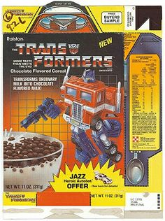 Transformers Cereal