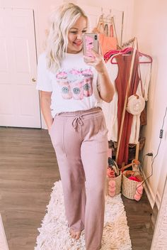 Comfy sleep pants for women from Target