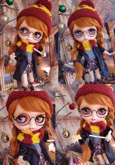 Custom Blythe Dolls: Harry Potter Custom Blythe - A Rinkya Blog
