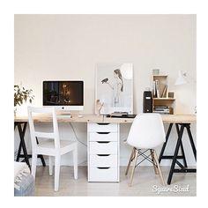 Quieres renovar tu espacio de trabajo? Hoy en el blog mucha inspiración para estudios oficinas y rincones de trabajo ---> http://ift.tt/1w0PeID Queremos uno para cada día de la semana!  #noestamoslocasesquesabemosloquequeremos #decoracionestudio #decoracionoficina #espaciosdetrabajo #officedecor #estilonordico #nordicstyle #nordicinspiration by tres_studio