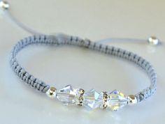 A personal favorite from my Etsy shop https://www.etsy.com/listing/245853123/swarovski-crystal-friendship-bracelet