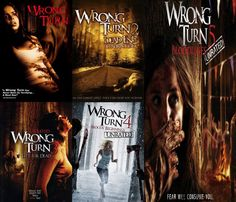The Wrong Turn movies