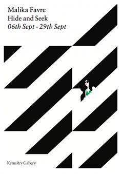 Malika Favre, Hide and Seek.  (Dazzle Ship Poster Idea?)