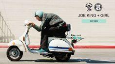 Joe King Speed Shop + Girl Skateboards Helmet