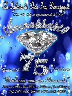 La iglesia de Dios Inc, Demajagua Fajardo: 75 Aniversario de La Iglesia de Dios Inc. Demajagu...