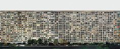 "Paris, Montparnasse. 1993 | Andreas Gursky | Chromogenic color print | 6' 8 3/4"" x 13' 1 1/4"" |"