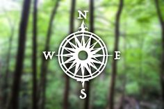 """Custom """"Classic Compass"""" Decal, Vehicle Decal, Camping Decal, Hiking Decal, Outdoors, Adventure, Explorer, Design, Customized, Nature Lovers by HikerTreasure on Etsy https://www.etsy.com/listing/285325209/custom-classic-compass-decal-vehicle"""