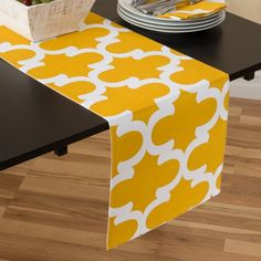 Mustard Colored Table Runners