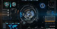 Futuristic Hud Element with Background  • Motion Background • See it in action ➝…