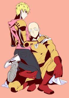 Genos and Saitama / One Punch Man