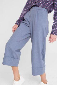 "Culottes Trousers | Брюки-кюлоты ""Уимбелдон"""