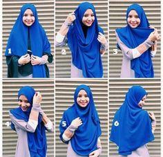 Simple Hijab Tutorial, Hijab Style Tutorial, Hijab Style Dress, Casual Hijab Outfit, Hijab Niqab, Mode Hijab, Stylish Hijab, Cool Girl Pictures, Hijab Fashion Inspiration
