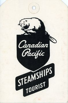 Canadian Pacific luggage tag