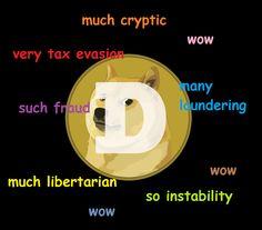 Doge on Bitcoins and stuff.
