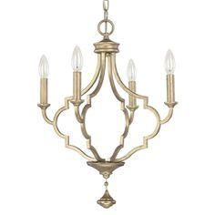 Capital Lighting C4454BG000 Quinn Mini Chandelier - Brushed Gold