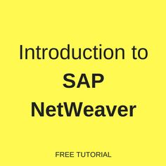13 best sap netweaver gateway and odata services images on pinterest what is sap netweaver learn about sap netweaver its components and architecture in the fandeluxe Choice Image