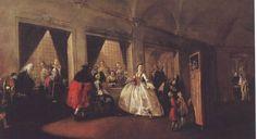 Guardi, Francesco - Le parloir du couvent San Zaccaria - Ca'Rezzonico, Venise