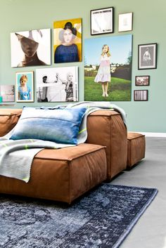 "I like this ""giant pillow"" looking couch. :) trying to figure out where I could incorporate into my decor.... Hmmm. I'm thinking this would be awesome in a pool house . Very loungy"