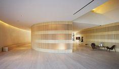 John Pawson · Hotel Puerta América, Reception Desk and Meeting Rooms