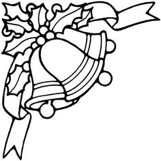 printable christmas ornament patterns | Christmas Bells Coloring Pages 1 | Purple Kitty