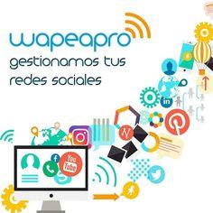@wapeapro Gestionamos tus redes sociales #socialmedia #CommunityManager - #regrann