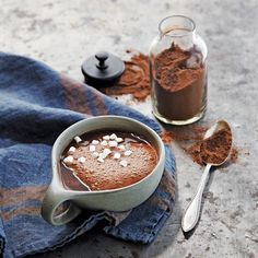 For those nights when a cup of something chocolaty is exactly what you need, here's a healthier cocoa mix with hints of cinnamon and nutmeg to warm you. Spiced Mocha Mix Hands-on time: 5 min. Total...