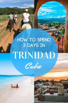 Trinidad is a beautiful colonial town in Cuba. This post will show you all the best things to do in Trinidad, Cuba. If you're planning a short 3 day trip to Trinidad, this is the guide for you. Cienfuegos, Vinales, Varadero, Trinidad Cuba, Visit Cuba, South America Travel, North America, Cuba Travel, Travel Destinations