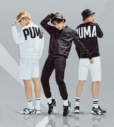 Jimin, J-Hope and Rap Monster Taehyung, Jimin Jungkook, Bts Bangtan Boy, Namjoon, Jikook, K Pop, I Love Bts, Bts Group, Korean Men