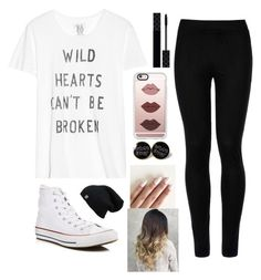 """""""no broken hearts"""" by tryn11 ❤ liked on Polyvore featuring Zoe Karssen, Wolford, Converse, Casetify and Gucci"""