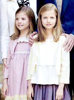 Princess Leonor of Spain and Infanta Sofia
