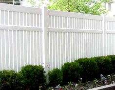 Landscaping around a white picket fence | eHow UK More