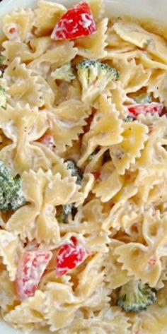 Ranch Pasta Medley Salad ❊