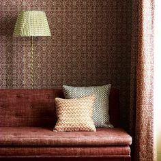Calimanco , from those clever people @fermoie #theworldofinteriors #fabrics #inspiringinteriors #prints #britishmade #interiordesign #interiordesign