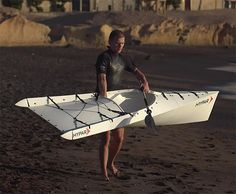 HYPAR. A Fold-Up Kayak That Fits in the Trunk of Your Car