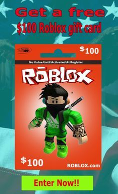 Get free 100 dollar roblox gift card of this pin Please visit the