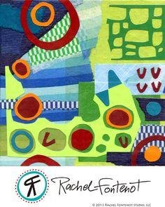 Rachel Fontenot - Cool & Warm Collage