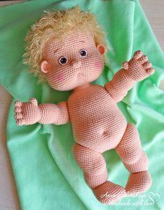 Amigurumi Pattern Crochet Doll