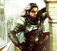 Boromir in Minas Tirith - Magali Villeneuve