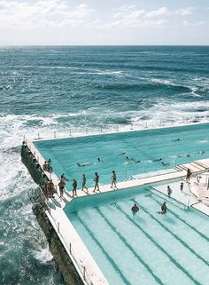 If you're going to Sydney and you fancy a swim, then Bondi Icebergs has definitely got to be on your must-swim list. Lay in the sun and soak up the beautiful beach vibes. Laos, Bondi Icebergs, Das Hotel, Rock Pools, Bondi Beach, Ultimate Travel, Staycation, Location, Best Part Of Me